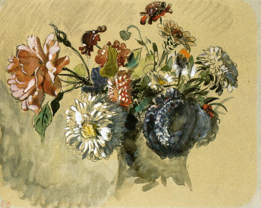 Bouquet of Flowers 1843
