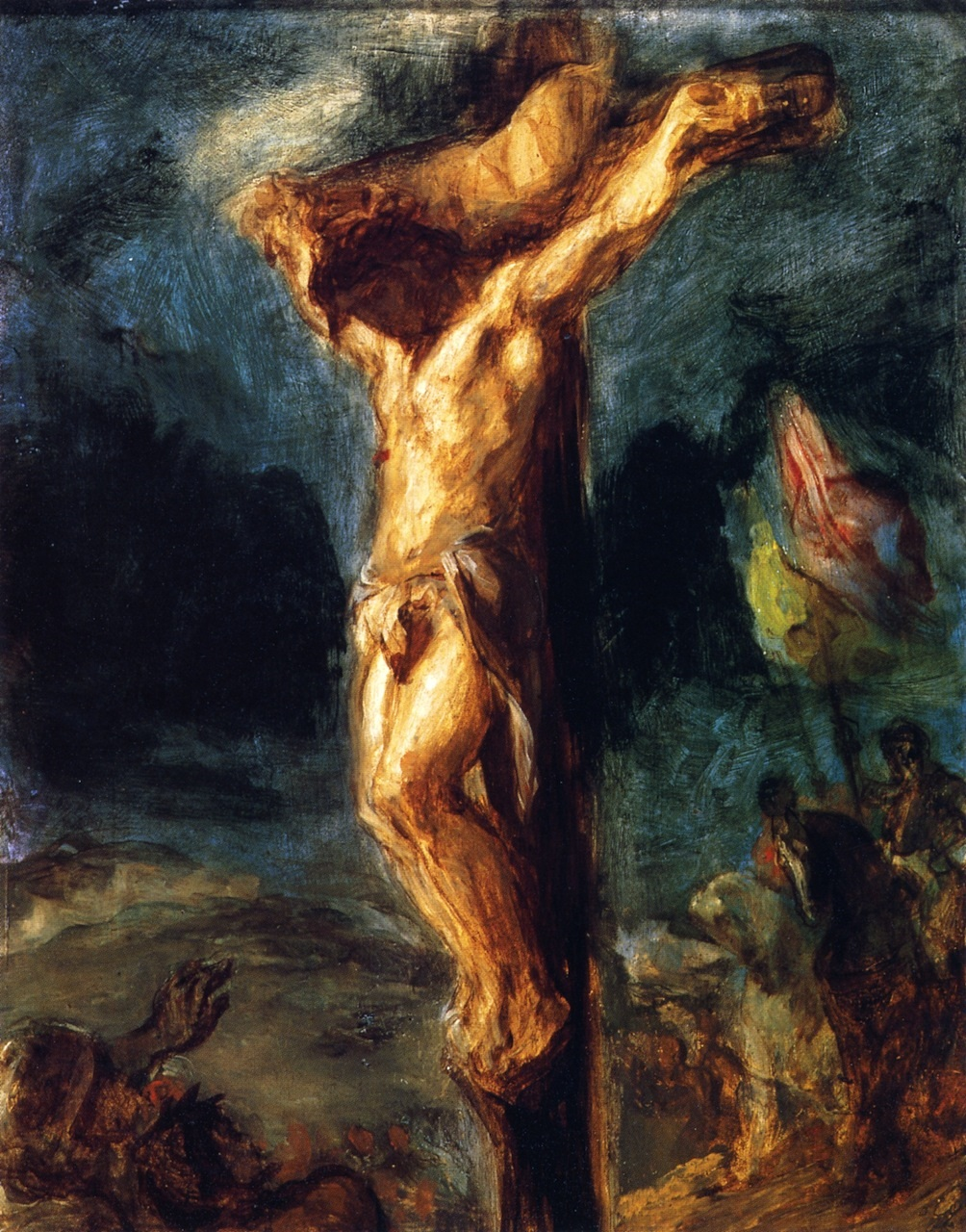 Christ on the Cross 1845