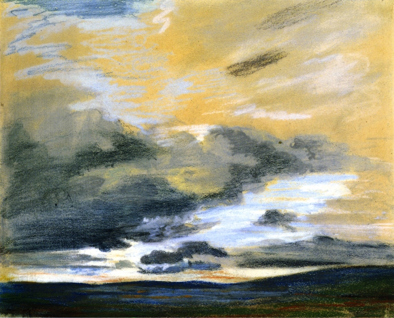 Study of the Sky at Dusk 1849