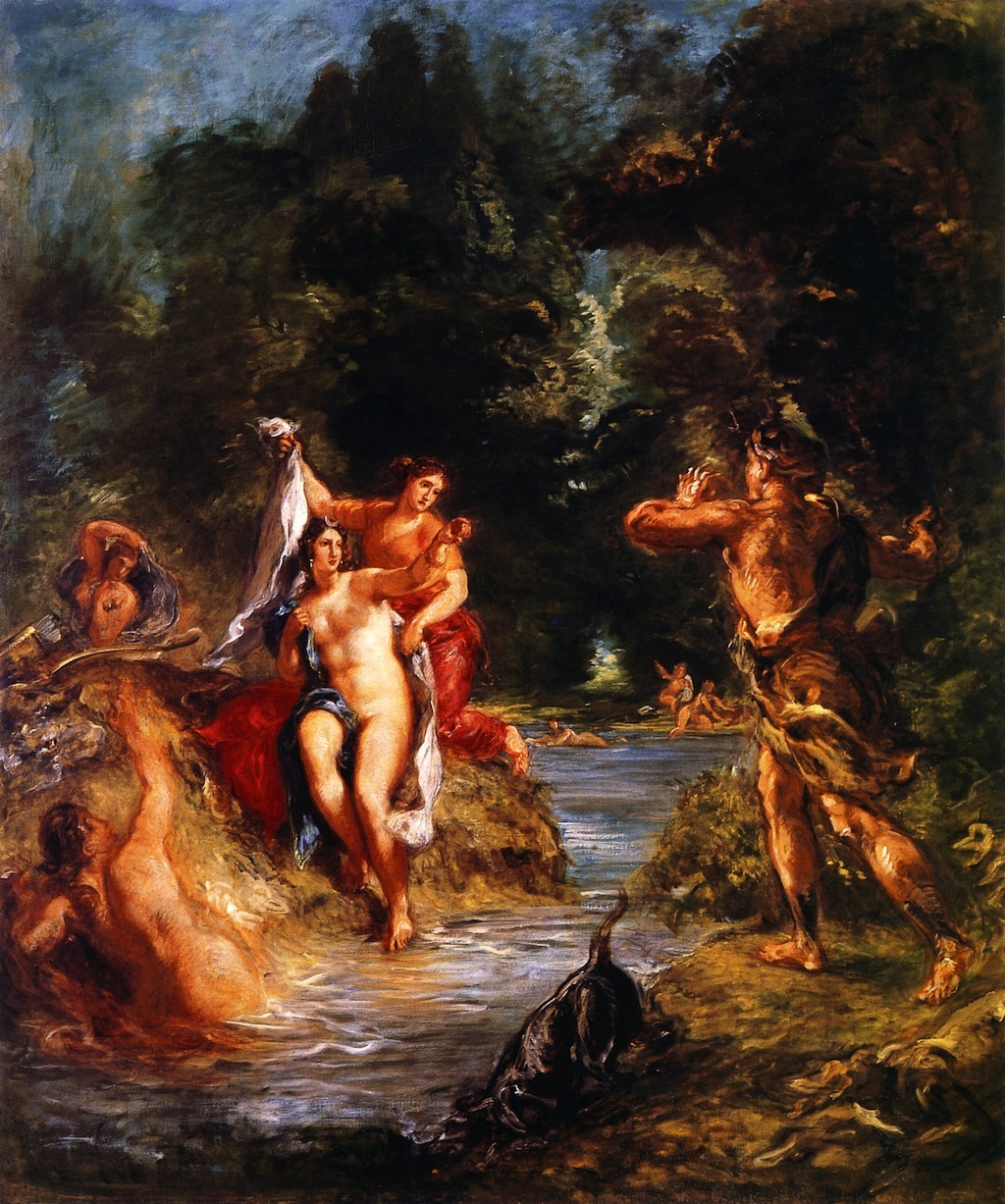 Summer - Diana and Actaeon 1856-1863