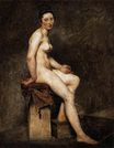 Seated Nude, Mademoiselle Rose 1821-1824