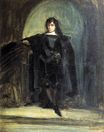 Self Portrait as Ravenswood from Hamlet 1821