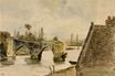 The Old Bridge at Nantes 1827