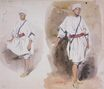 Two Views of a Young Arab 1832