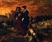 Hamlet and Horatio in the Graveyard 1839