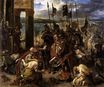 The Crusaders' entry into Constantinople, 12th April 1204 1840