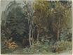 The Edge of a Wood at Nohant 1842-1843