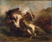 Collision of Moorish Horsemen 1843-1844