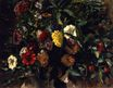Bouquet of Flowers in a Vase 1848-1849