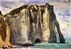Cliffs of Étretat 1849