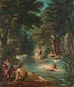 Bathers. Turkish Women Bathing 1854