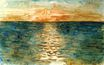 Sunset on the Sea 1854