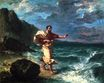 Demosthenes Declaiming by the Seashore 1859