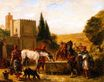 Horses at a Fountain 1862