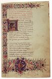 Gherardo di Giovanni del Fora - Manuscript with Poems by Lucrezia Tornabuoni 1469