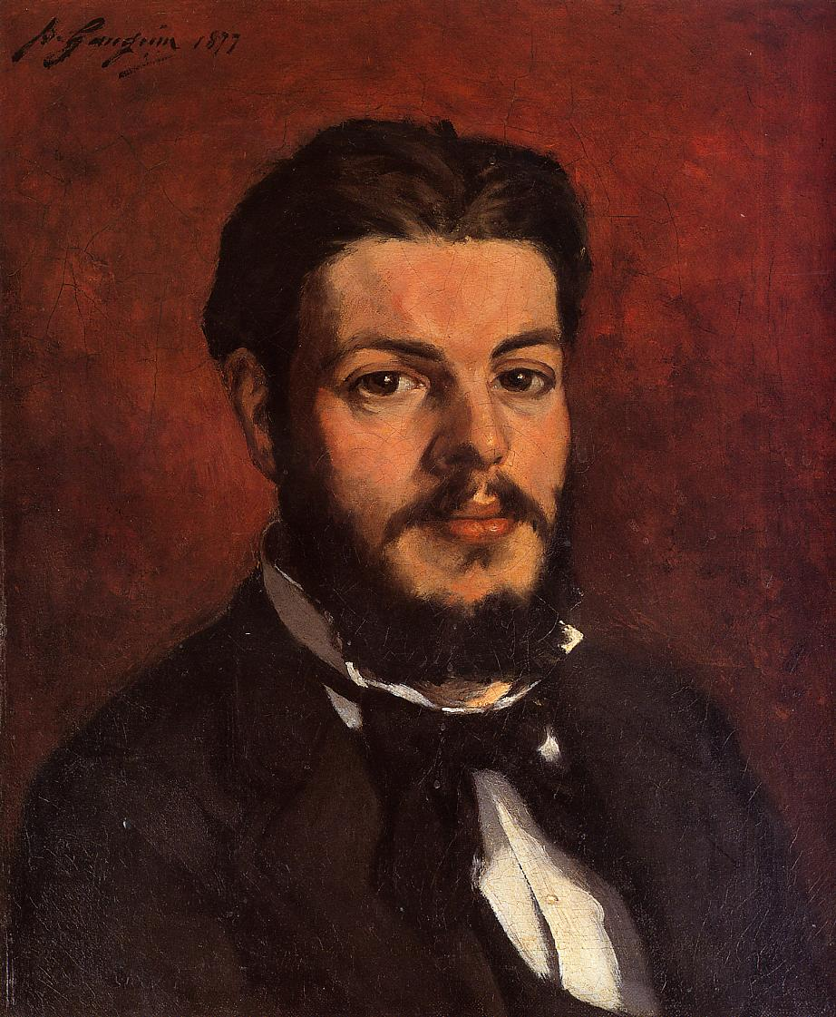 Paul Gauguin - Portrait of Claude Antoine Charles Favre 1877