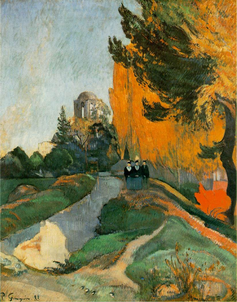 Paul Gauguin - Les Alyscamps 1888