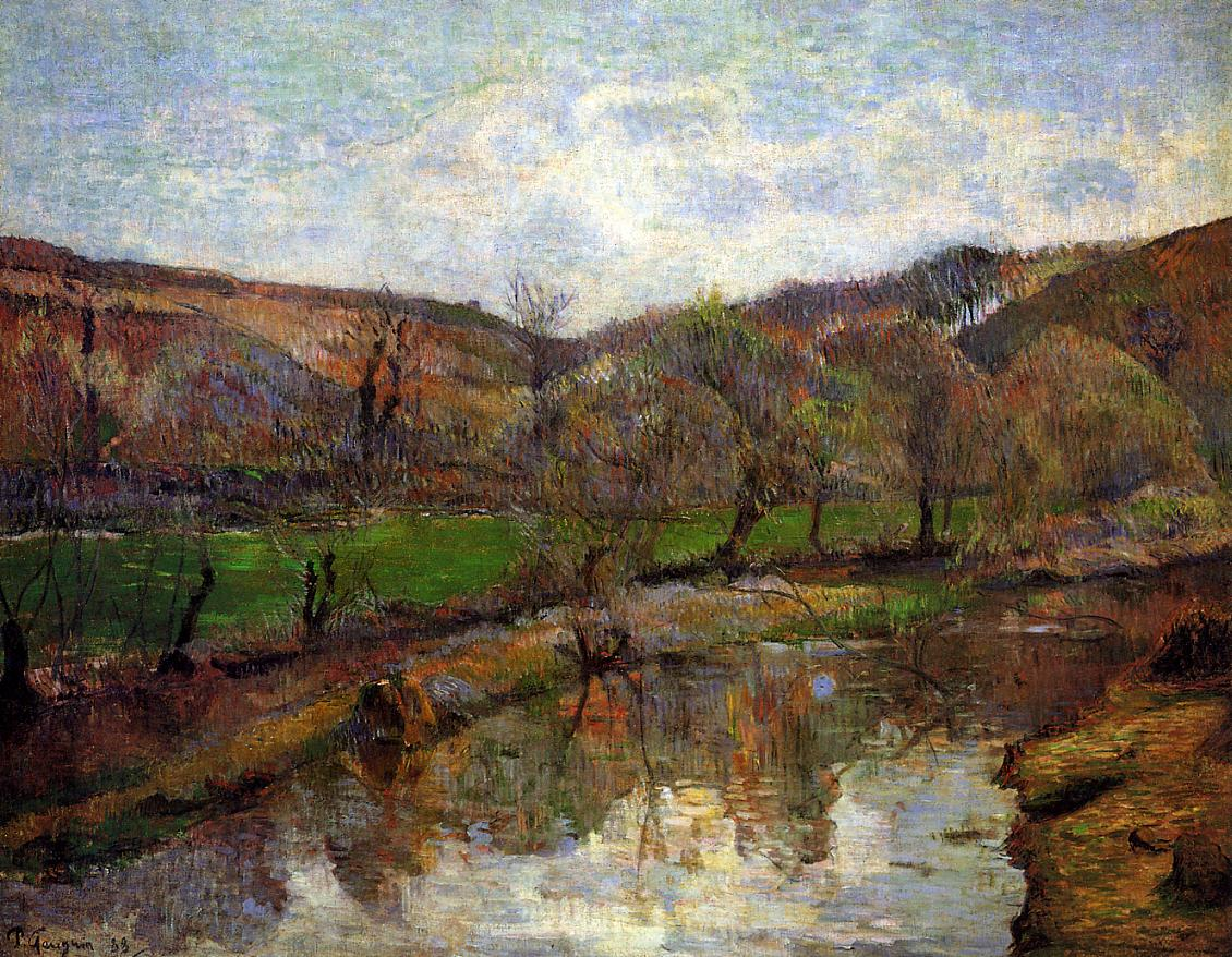 Paul Gauguin - Brittany Landscape 1888