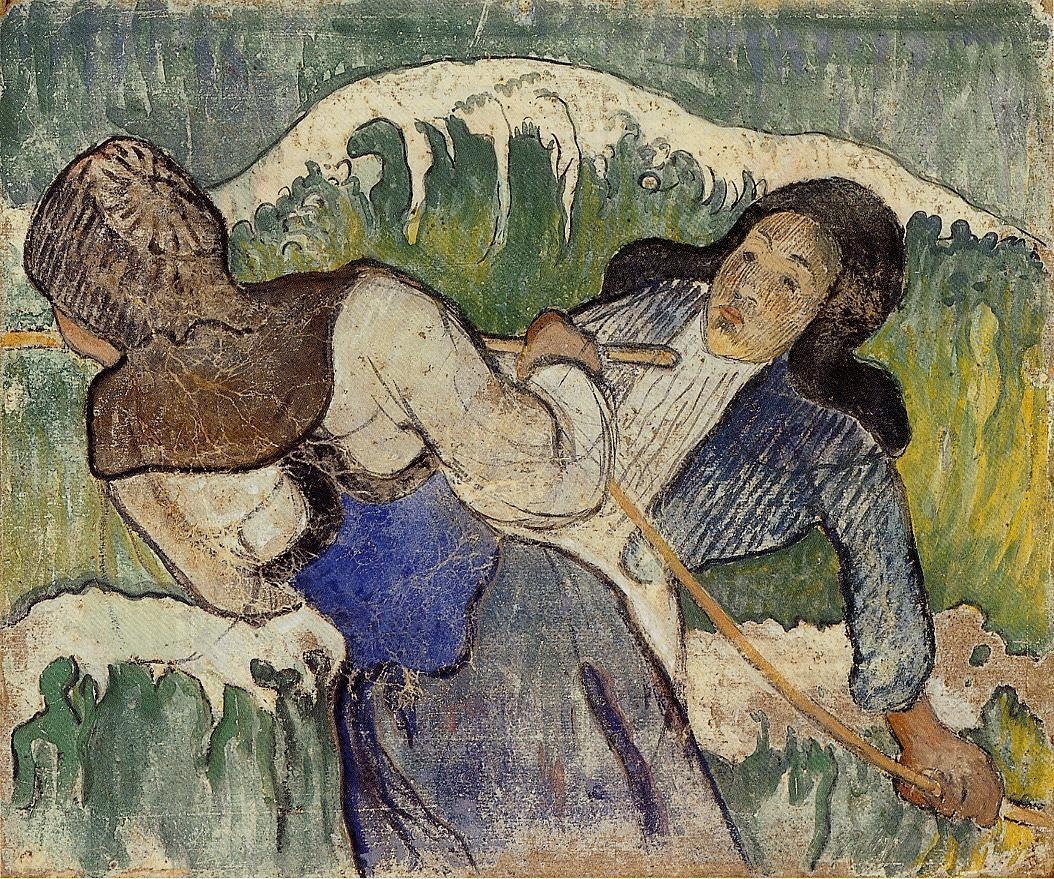 Paul Gauguin - Kelp gatherers 1890
