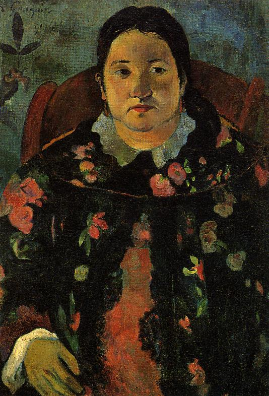 Paul Gauguin - Portrait of Suzanne Bambridge 1891