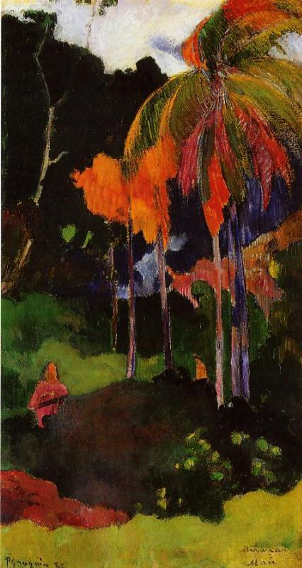 Paul Gauguin - The moment of truth 1892