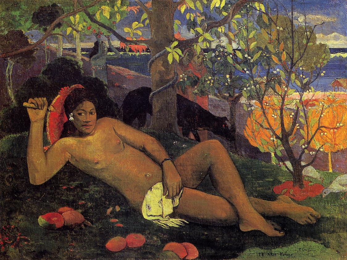 Paul Gauguin - The King's Wife 1896