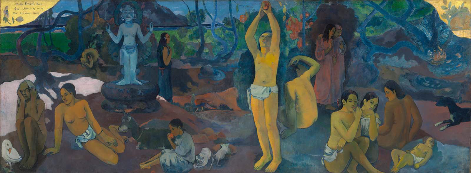 Paul Gauguin - Where Do We Come From? What Are We? Where Are We Going? 1897
