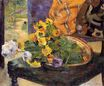 Paul Gauguin - To Make a Bouquet 1880