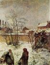 Paul Gauguin - The garden in winter, rue Carcel 1883