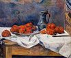 Paul Gauguin - Tomatoes and a pewter tankard on a table 1883