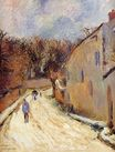 Paul Gauguin - Osny, rue de Pontoise, Winter 1883