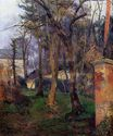 Paul Gauguin - Abandoned garden in Rouen 1884