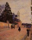 Paul Gauguin - Street in Rouen 1884