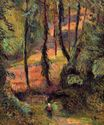 Paul Gauguin - Wooded path 1884