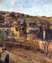 Paul Gauguin - Blue roofs of Rouen 1884