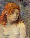 Paul Gauguin - Bust of a nude girl 1884