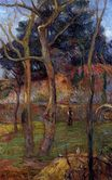 Paul Gauguin - Bare Trees 1885