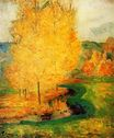 Paul Gauguin - By the Stream, Autumn 1885