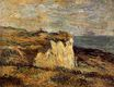 Paul Gauguin - Cliff near Dieppe 1885