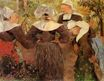 Paul Gauguin - Four Breton Women 1886