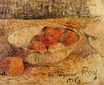 Paul Gauguin - Fruit in a bowl 1886