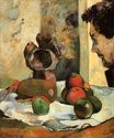 Paul Gauguin - Still Life with Profile of Laval 1886