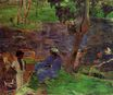 Paul Gauguin - On the Banks of the River at Martinique 1887