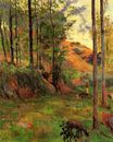 Paul Gauguin - Path down to the Aven 1888