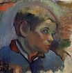 Paul Gauguin - Portrait of a little boy 1888