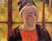 Paul Gauguin - Portrait of a woman. Marie Lagadu 1888
