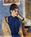 Paul Gauguin - Portrait of Madelaine Bernard 1888