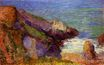 Paul Gauguin - Rocks on the breton coast 1888
