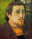 Paul Gauguin - Self portrait at Lezaven 1888