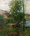 Paul Gauguin - Willow by the Aven 1888